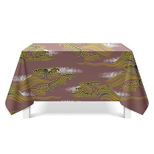 DREAMING-Muster Textur Stoff Tischdecke Home Tischdecke Tv-Schrank Couchtisch Stoff Runde Tisch Tischset 140cm*180cm