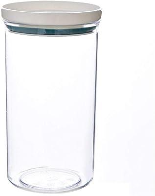 PPの食品収納ボックスプラスチッククリア食品容器セットでは、穀物タンク食品保存干しふたキッチンお店ボトルの瓶を注ぎます LCF-9.2 (Color : Army Green)
