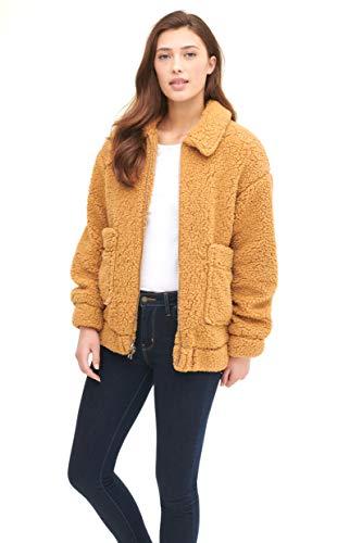 Levi's Women's Soft Sherpa Oversized Bomber Jacket
