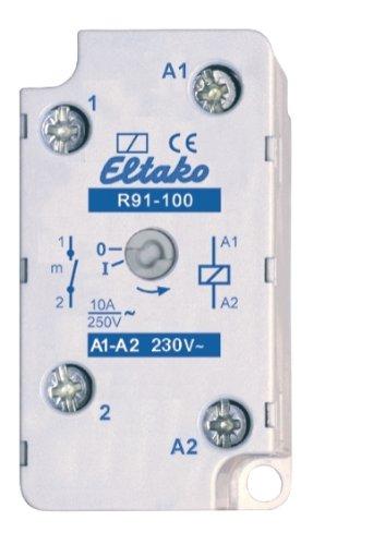 Eltako 2613429 ELTA Installationsrelais R91-100-230V