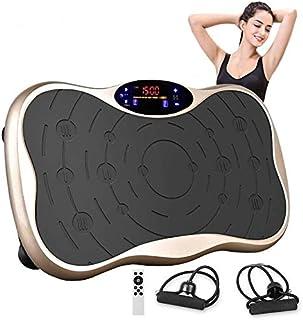Dilraba 人気 振動マシン 新振動フィットネスマシン スマート振動マシン[1年保証]PSE認証済 ぶるぶるマシン【振動調節99段階】脂肪燃焼 老害物排出 音楽プレイヤー 機能 ゴム紐付き