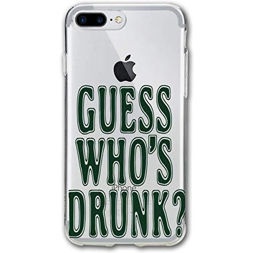 HNJZ-GS Guess Whos Drunk iPhone 7plus 8plus 7/8 Plus Funda de teléfono...