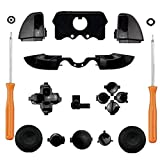 Ekimy Black Bumpers Buttons Set+T8 Screwdriver T6 Screwdriver for Xbox one...