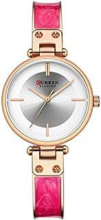 CURREN 9058 Women Quartz Movement Watches Ladies Simple Bracelet Wrist Watches