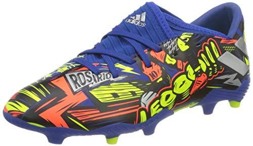 adidas Nemeziz Messi 19.3 FG J, Scarpe da Calcio Bambino, Team Royal Blue/Silver Met./Solar Yellow, 31 EU