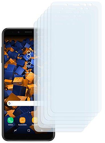mumbi Schutzfolie kompatibel mit Samsung Galaxy A8 2018 Folie klar, Bildschirmschutzfolie (6X)