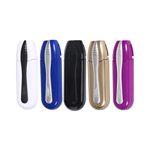 CH-GTJ Portable Occhiali Cleaner Carbone Pulito Iniettato Occhiali da Sole Pennello Strumenti, 5 Pezzi Peeps Capolino Occhiali Detergente 2 in 1 Kit Pennello Detergente,Style2