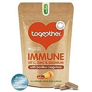 Immune Support Supplement – Together Health – Whole Food Nutrients – Vitamin C, Zinc, Selenium & Liv...