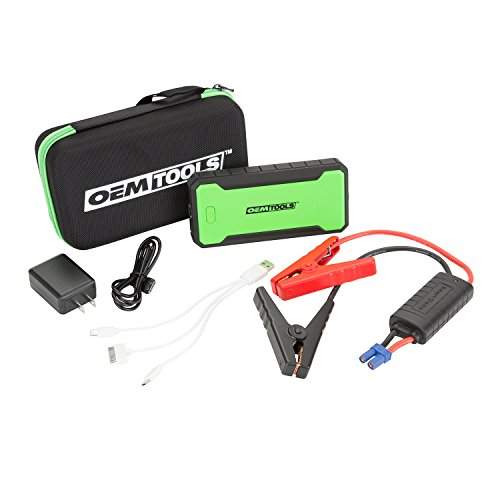 For Sale! OEMTOOLS 12000mAh 24475 12000 mAh Li-ion Jump Starter Charge Phones, Laptops, etc. | Cold ...