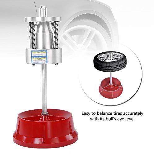 Balanceador de llantas, Cubos portátiles para camiones de automóviles Ruedas Balanceador de llantas Nivel de burbuja Llanta de servicio pesado