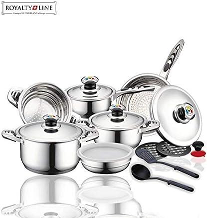 Amazon.es: Royalty Line - Baterías de cocina / Juegos de sartenes y ...
