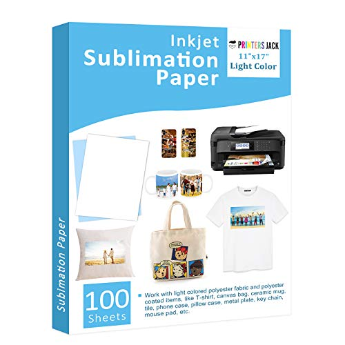 Sublimation Paper 100 Sheets 11' x 17'...