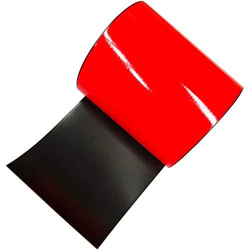 日東エルマテリアル 蛍光マグネットシート 100mm×1m KEIKO-MAGNET100R 赤