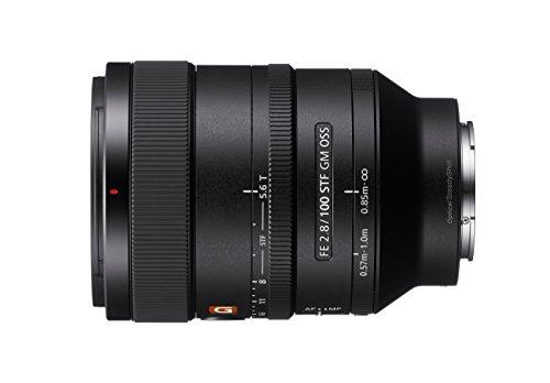 Sony SEL-100F28GM G Master Tele-Objektiv (Festbrennweite, 100 mm F2.8, OSS, Vollformat, geeignet für A7, A6000, A5100, A5000 und Nex Serien, E-Mount) schwarz