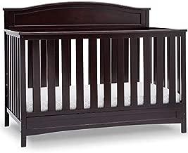 Delta Children Emery Deluxe 6-in-1 Convertible Crib, Dark Chocolate