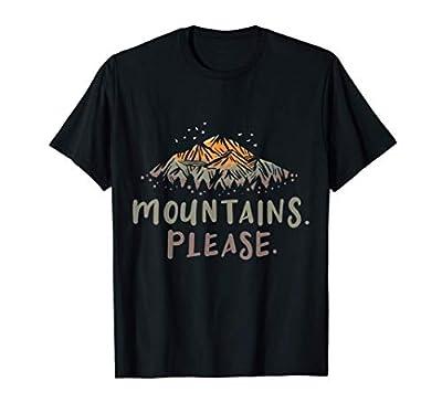 Mountain Hiking Camping Gift T-Shirt