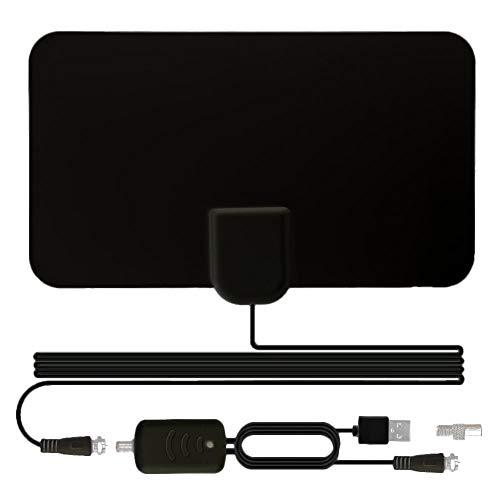 gaeruite Digital Amplified Indoor, 1200 M 4K / HDTV Mini Indoor Digital-TV-Antenne Weiß