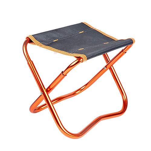 ZA Ultralichte, inklapbare kruk, draagbare klapstoel voor buiten, volwassenen, kleine plank, mazar om te vissen, aluminium houder, waterdicht weefsel, robuust, 3 kleuren optioneel