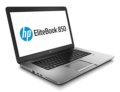HP EliteBook 850 G2 15,6 Zoll 1920x1080 Full HD Intel Core i5 256GB SSD Festplatte 8GB Speicher Win 10 Pro Webcam G8T24AV Notebook Laptop (Generalüberholt)