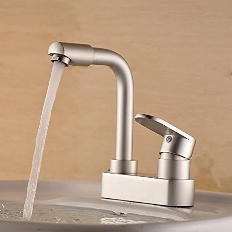 Hlluya Professional Sink Mixer Tap Kitchen Faucet The space aluminum swivel faucet basin mixer