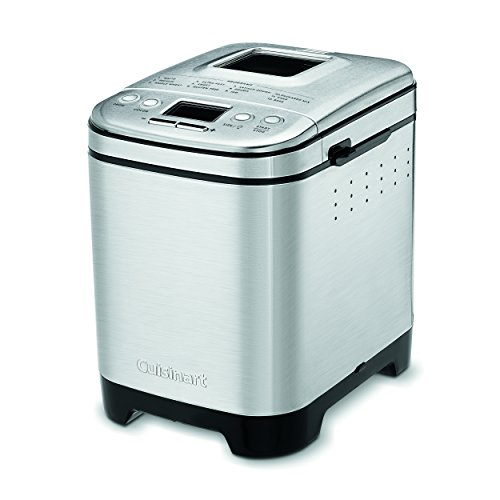 Cuisinart CBK-110P1 Bread Maker, Up To 2lb Loaf, New Compact Automatic