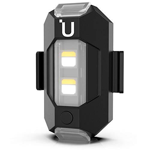 CAMOLA LED Stroboskoplicht Blitzlicht, 3 Farben Taschenlampe Drohnen Nachtlicht für DJI Mini 2/Mavic Mini Drone Zubehör, 110mAh Akku USB-C Laden