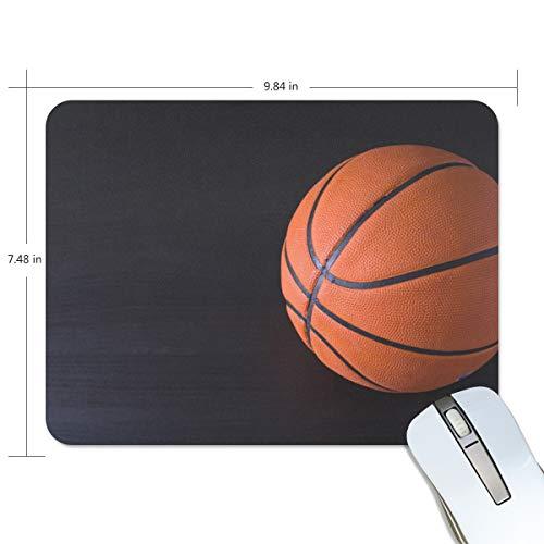 MONTOJ NBA - Tappetino per mouse antiscivolo, motivo: pallacanestro