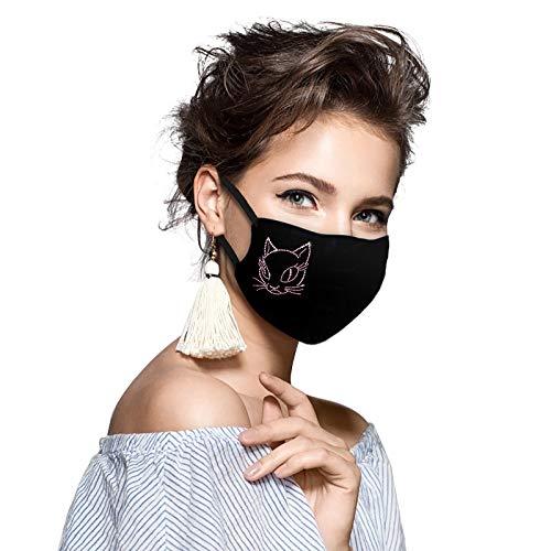 ZHX 1 Stück Mund und nasenschutz Gesichtsschutz Schutzhülle Outdoor Schutztuch staubdicht Winddicht Mund Schal für die persönliche Gesundheit Einstellbar Sportmundschutz (C)