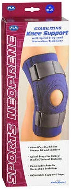 FLA SafeTSport Stabilizing Knee Support, Navy, Medium