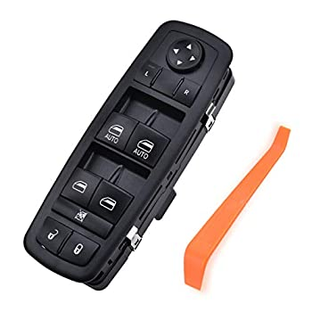 SYKRSS Master Power Window Switch Front Left Driver Side Compatible with 2012-2016 Town and Country 2012-2020 Caravan Replaces for 68110871AA