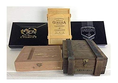 Wooden empty cigar Super beauty product restock quality top! box pack wood of 5 boxes Purchase