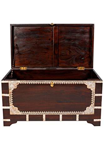 Marrakesch Orient & Mediterran Interior ® Indischer Truhentisch Vimalaa - 80cm - 3