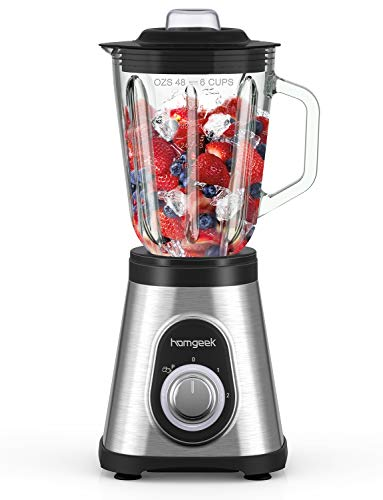 homgeek Blender 700W, Blender Smoothie et Milk-shake...