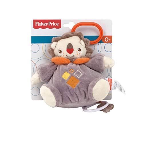 ARDITEX FP10100 Muñeco Peluche de Bebé Musical de 26cm de Mattel-Fisher-Price