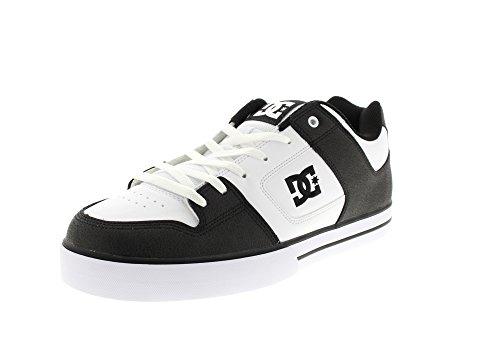 DC Shoes PURE M SHOE–Sneaker, Herren, - Black/White/Black - Größe: 11 UK