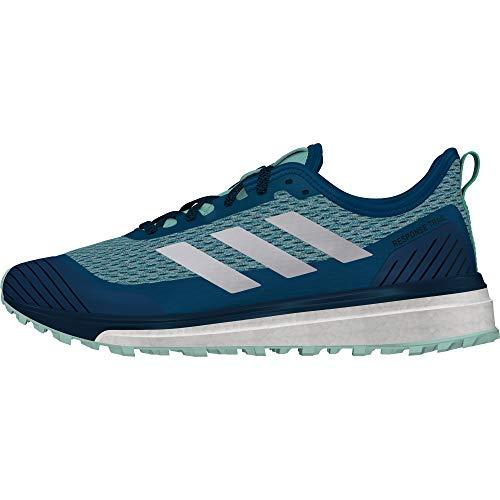adidas Response W, Zapatillas de Trail Running Mujer, Azul (Azcere/Ftwbla/Mencla 000), 36 2/3 EU