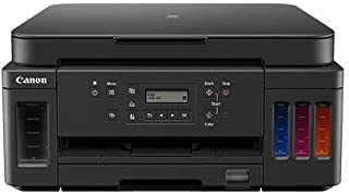 Canon PIXMA G6040 3-in-1 Refillable MegaTank Printer