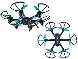 SKYRIDER DRW557BDLBU Night Hawk Hexacopter Drone with Wi-Fi(R) Camera