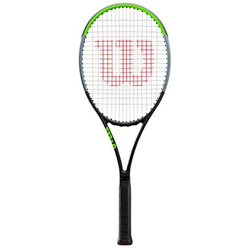 Raqueta de Tenis Especial Avanzada para Principiantes de Carbono Completo para Adultos Raqueta de Tenis Profesional para Entrenamiento Juvenil Individual y Doble