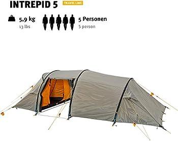 Wechsel Tents Travel Line Intrepid 5 - Tente Tunnel 5 Personnes, Confortable et Ultra Légère
