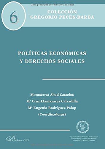 Políticas económicas y derechos sociales.