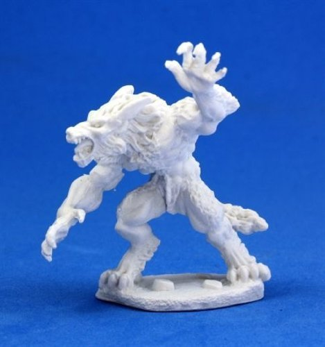 Werewolf - Dark Heaven Bones Miniature by Reaper Miniatures (English Manual)
