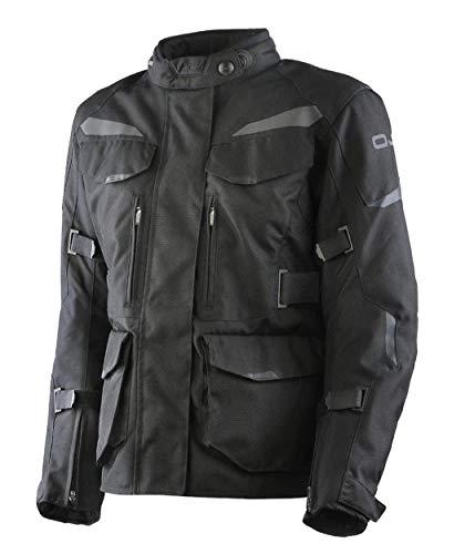 OJ - Chaqueta de moto para mujer, protecciones AFTER LADY BLACK L