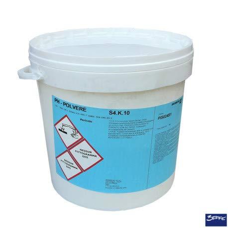 cubex professional Acido PH Meno per Pulizia Acqua Piscina kg 10