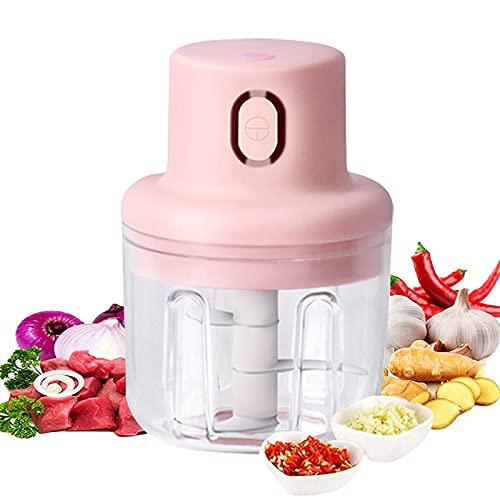 Royal Rack Electric portable hand mixer grinder chopper vegetable cutter onion,garlic,ginger,pepper crusher wet dry machine mini electric blender for kitchen (250ml)