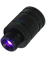 QWCZY Bow Sight, Objetivo De Filmación Normales De Luz Arco Y La Flecha Equipo De Arco Suministros, Fibra Óptica Arco Compuesto LED Azul Vista De La Luz 3/8-32 Rosca Universal Fit