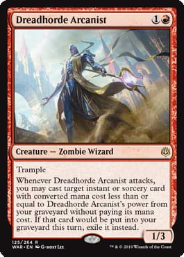 Magic: The Gathering - Dreadhorde Arcanist - War of The Spark