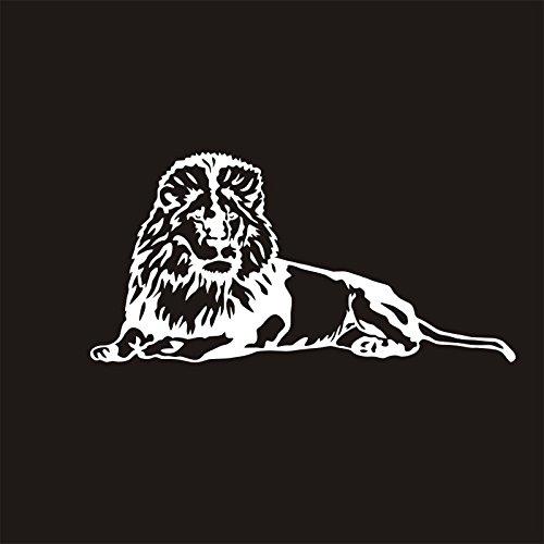 ZHFC- -la Voiture Automobile Original décoration Lion féroce 10.2cm x 20.5cm Mur Autocollants décoratifs