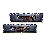 G.SKILL 16GB (2 x 8GB) Flare X Series DDR4 PC4-23400 2933 MHz 288-Pin Desktop Memory Model F4-2933C14D-16GFX