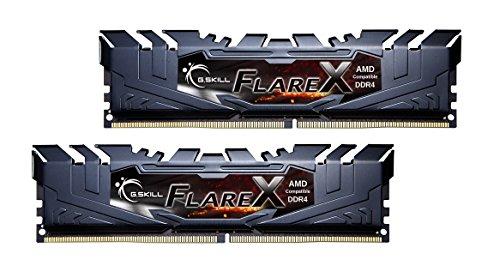 G.Skill Flare X Series 16GB (2 x 8GB) 288-Pin DDR4 2400 (PC4 19200) for AMD Ryzen Desktop...